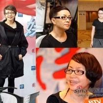 宋丹丹经常以这样简单朴素的舒适装亮相,殊不知宋丹丹此款眼镜居然是香奈儿品牌,这幅眼镜的价值在3万元。