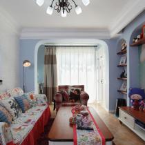 小空间里的豪华生活 温馨浪漫的46平小窝