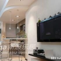 电视墙&开放式厨房