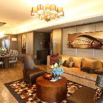 108平低调奢华3居婚房 让人羡慕的舒适美家