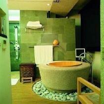 我们的浴室就这么装吧,赞!