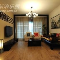 看一个客厅全貌