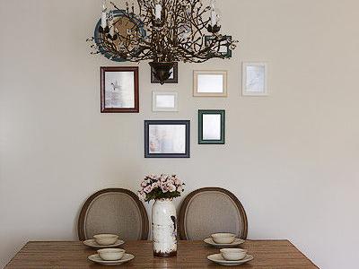 餐厅照片墙
