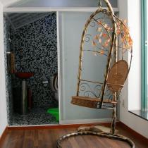 二楼卫生间及吊篮
