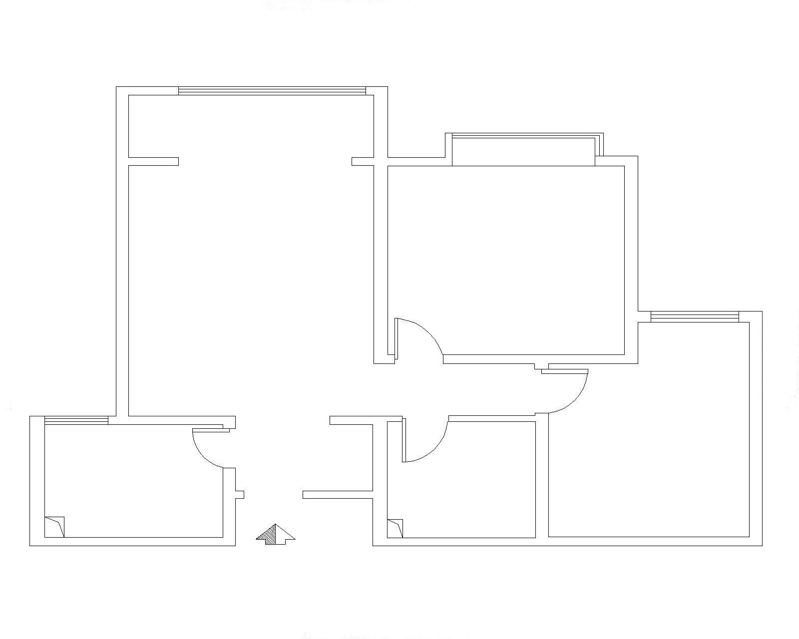 实创装饰设计的东胜紫御府两居室