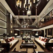 超质感享受 大气古朴中式建筑