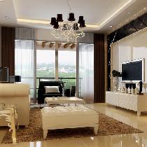 现代简约风格强调室内空间宽敞、内外通透