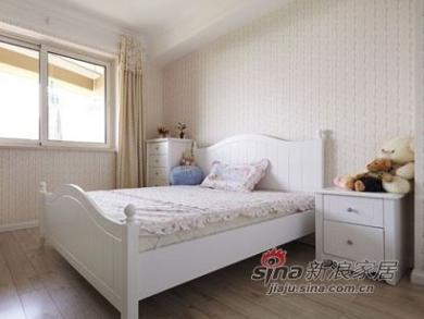 田园风格的一套家具,孩子的房间用了很柔和的色彩,感觉最温馨了。