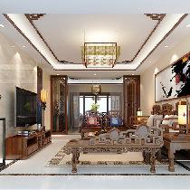 结合古典中式的装饰元素,来呈现亦古亦今的空间氛围。