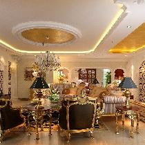 保利水韵长滩:别墅装修,欧式风格