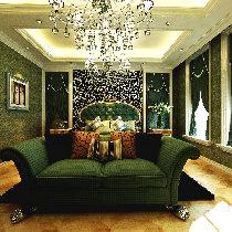 【上海实创装饰】230平别墅豪华新古典风格设计