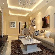 两居室现代简约风格装修