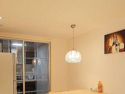 餐厅图,灯具是灯具市场购买的。