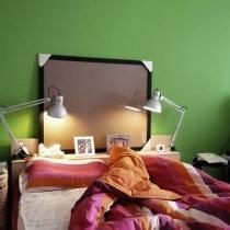 床品好喜庆啊,本来实在不想用艳丽的颜色,不过结婚不能太素了