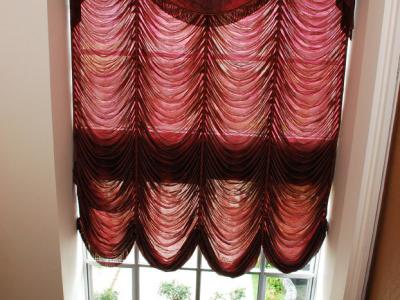 从上面往下拍窗帘,窗帘还可以吧,摩力克买的
