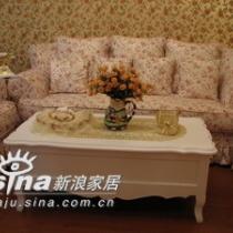 小碎花的田园沙发,很可爱
