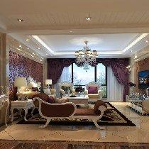 长城半岛城邦180平米 欧式新古典酷炫家居