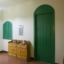 绿色的拱门