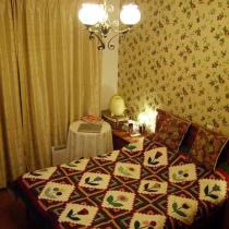 更具浓郁乡村风味的墙纸和床罩