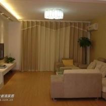 简单的客厅(地板是圣象12MM复合地板)