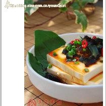 【豉油拌豆腐】一分钟搞定极品美味豆腐