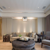 195平新古典风格老房改造外科医生典雅之家