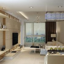 复式设计风格-南湖半山豪庭 现代简约风格 设计案例分享