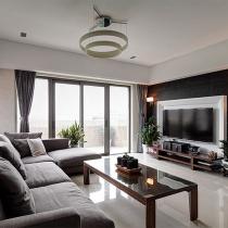 自然复古风格正流行 150平中式品味4居室