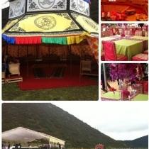 宾客休息喜庆帐篷