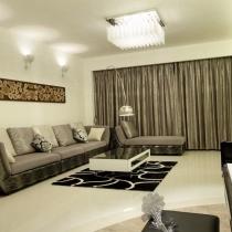 白与原木的纯净 130平淡雅时尚3居室