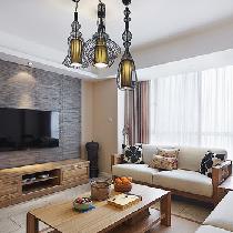 优雅魅影简约实用 9万装135平简洁三居室