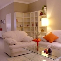起居室兼阅览区