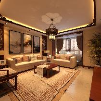 黄海花园中式风格