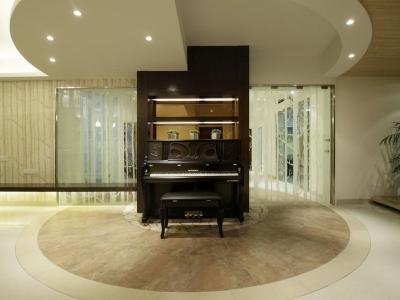 客厅钢琴区域