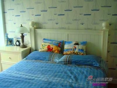床全景,我最爱的帆船墙纸