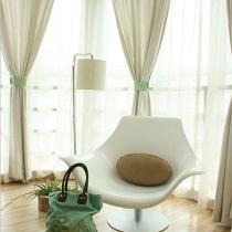 暖黄沙发 拒绝冷清的117平3室2厅