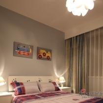次卧的定位是客房与儿童房结合