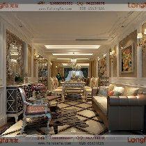 160平新古典风格 四居室装修