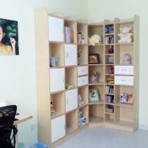 书柜,照搬了某位网友的书柜