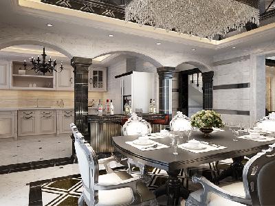 奢华欧式 别墅装修设计 绿城玫瑰园案例借鉴!