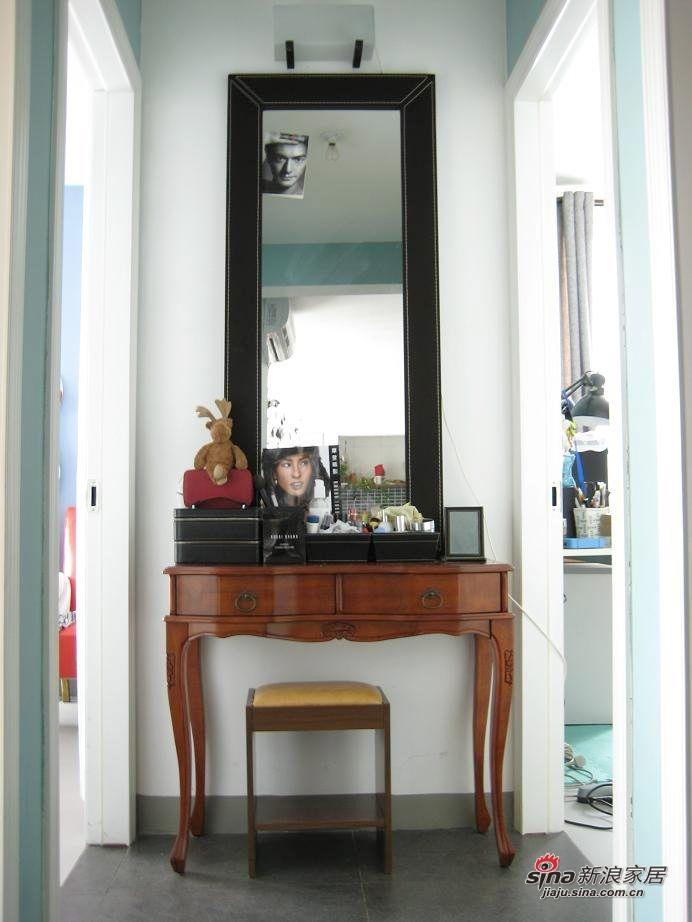 梳妆台放在卧室外