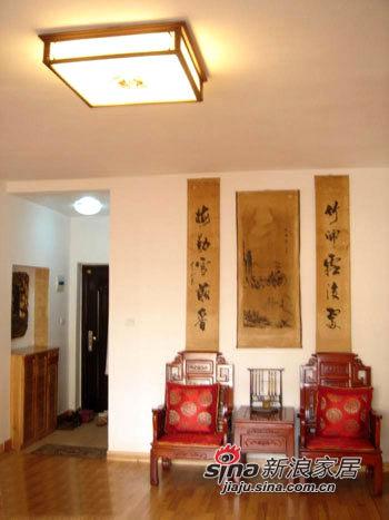 客厅中堂及入口