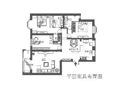 北京房山装修-大宁山庄-160平米奢华欧式风格装修