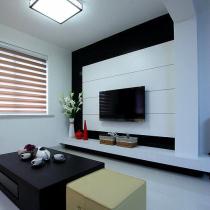 106平现代简约质感休闲家 小两口的幸福空间