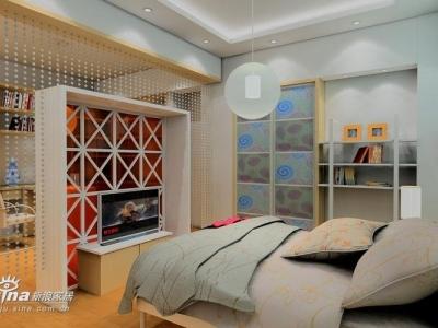 小卧室连书房
