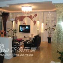 DIY超美红黑白130平米现代小家