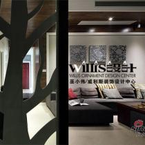 古典与现代的融合 三室两厅跃层公寓