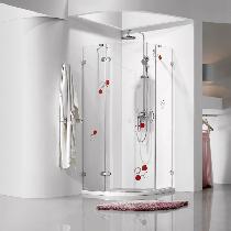 类似推荐:东鹏洁具蝴蝶1号淋浴房,带彩色花纹非常漂亮,帅气的透明淋浴房,实用且浪漫。