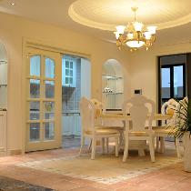 210平温馨时尚欧式风格5居室装修设计