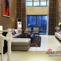 《纯美空间》----东莞理想沁园别墅设计实景